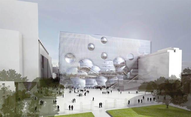 Конкурсный проект Benthem Crouwel Architekten и Merkx+Girod