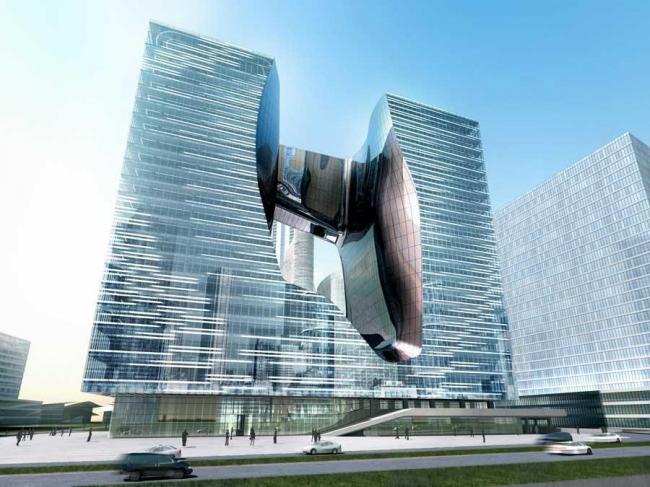 Офисный комплекс «Опус». Проект 2010 г.