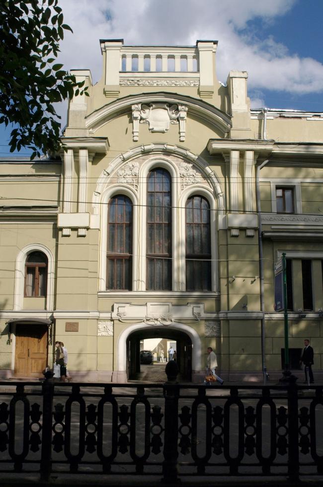 Тверской бульвар, 18, дом водочного фабриканта Петра Смирнова. Фотография: ru.wikipedia.org