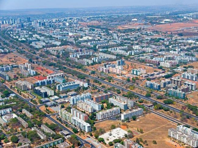 Вид жилых районов