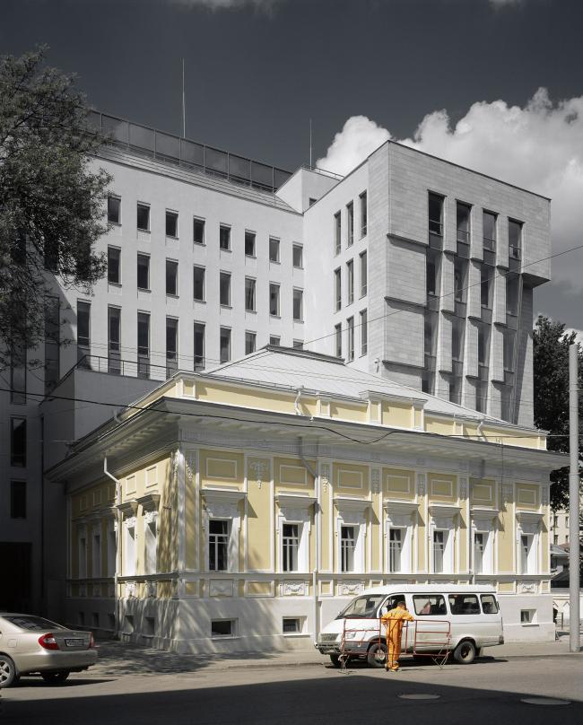 Административное здание на Страстном бульваре. Фотография ©  Юрий Пальмин