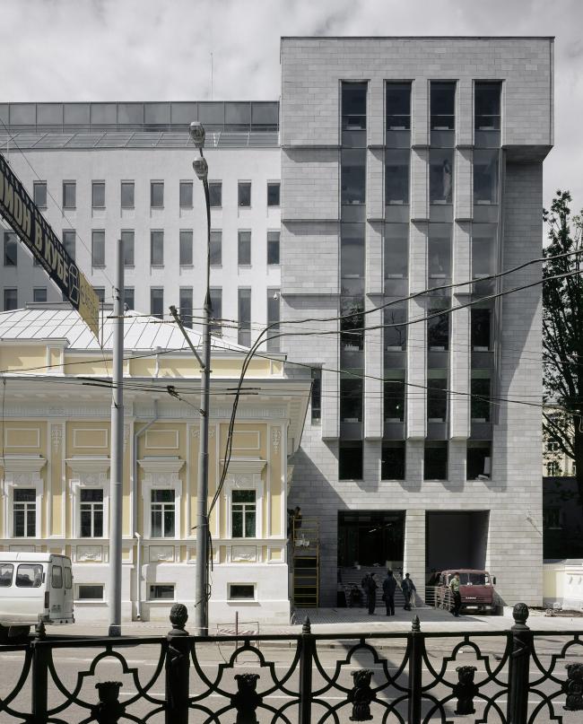 a part of the facade