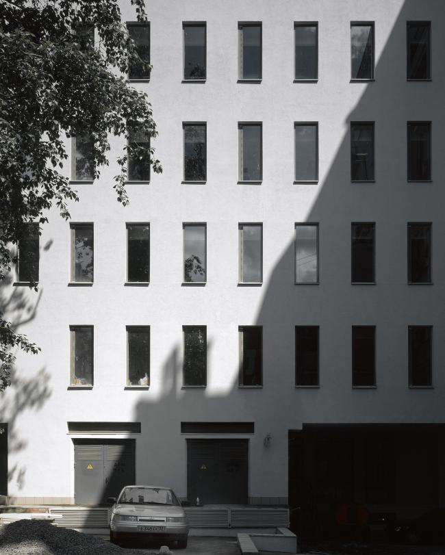 Административное здание на Страстном бульваре. Фрагмент фасада. Фотограф: Юрий Пальмин