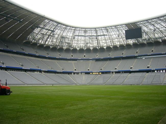 Стадион «Альянц». Фото: Mattes via Wikimedia Commons. Фото находится в общественном доступе
