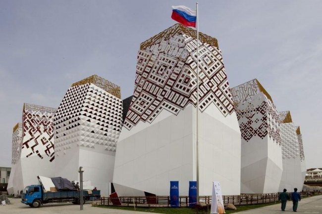 Russian pavilion at Expo 2010