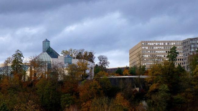 Музей современного искусства великого герцога Жана. Фото: Denise Hastert via Wikimedia Commons. Лицензия CC-BY-SA-3.0