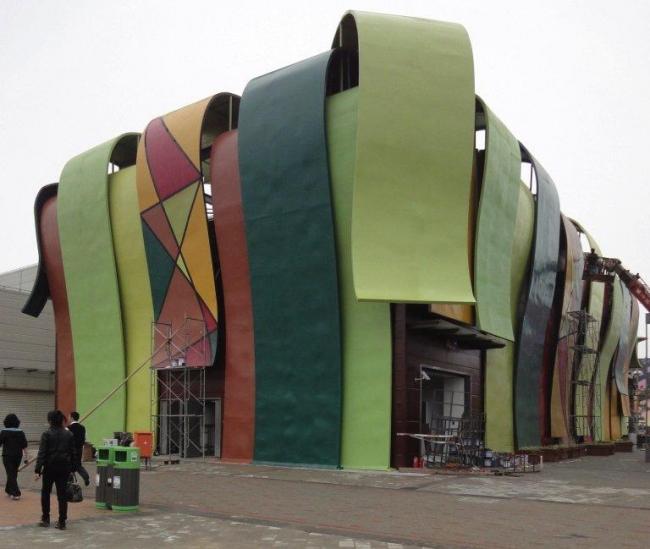 Павильон Анголы