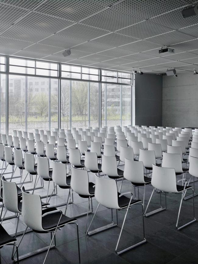 Мемориальный комплекс «Топография террора». Аудитория. Фото © Stefan Josef Mueller, Stiftung Topographie des Terrors