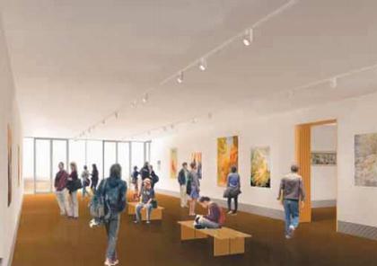 Центр Чейс Школы дизайна Род-Айленда. Проект интерьера