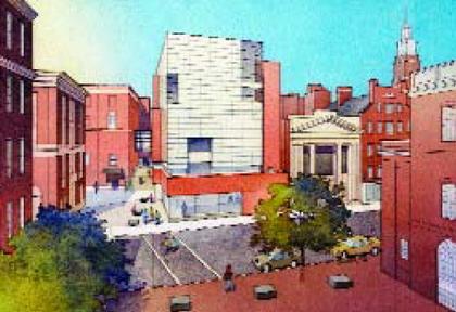 Центр Чейс Школы дизайна Род-Айленда. Окончательный проект