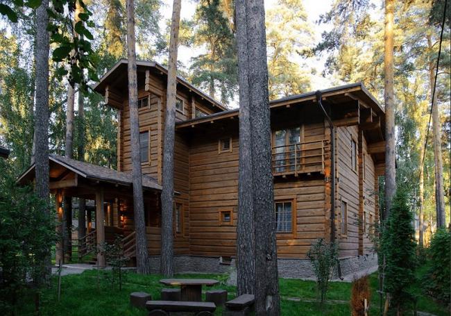 Загородный дом в поселке «Лесные поляны». ООО «Архитектурная мастерская Н.В.Белоусова»