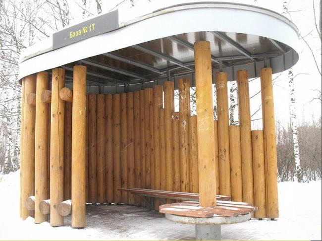 Остановочный павильон общественного транспорта. ООО Проектное бюро «ДА»