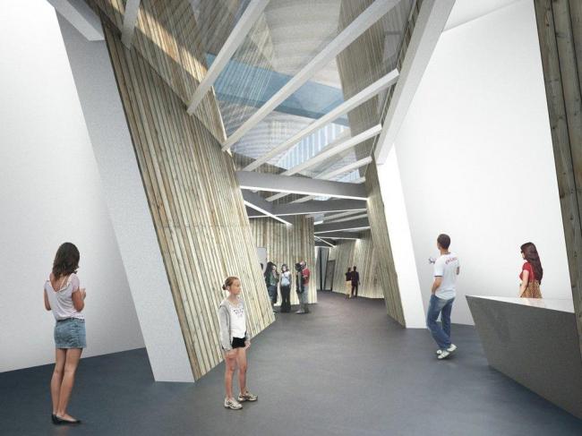 Академия Еврейского музея в Берлине © Studio Libeskind