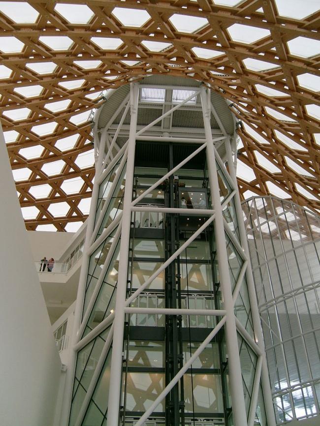 Центр Помпиду-Мец. Фото: Christian Ries via Wikimedia Commons. Лицензия CC-BY-SA-3.0
