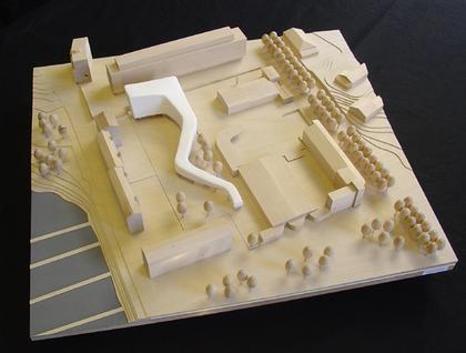 Жилой комплекс «Меандр» в Тайваллахти. Макет