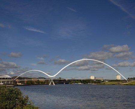 Премия RIBA 2010. Мост Инфинити-Бридж бюро Spence Associates в Тисдейле