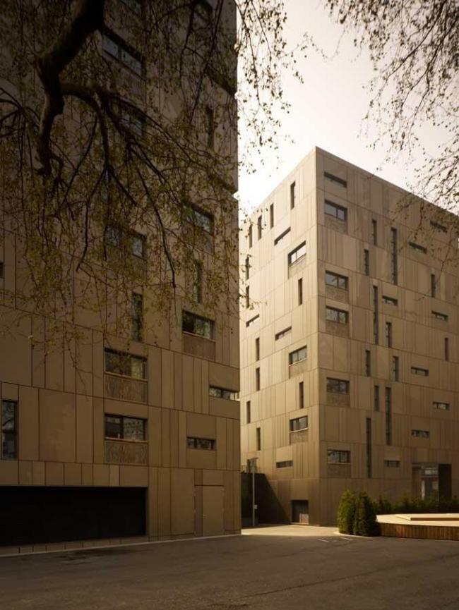 Поощрительная премия AJ100. Жилой комплекс Grosvenor Waterside в Лондоне бюро Make