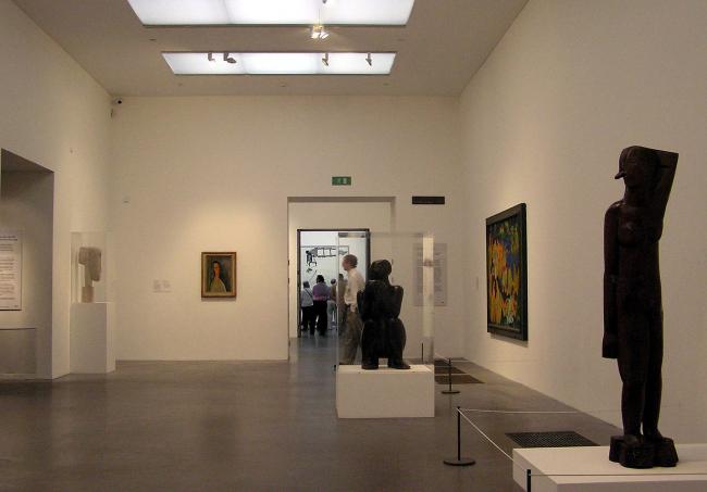 Галерея Тейт Модерн. Интерьер выставочного зала. Фото: Arpingstone via Wikimedia Commons. Фото находится в общественном доступе