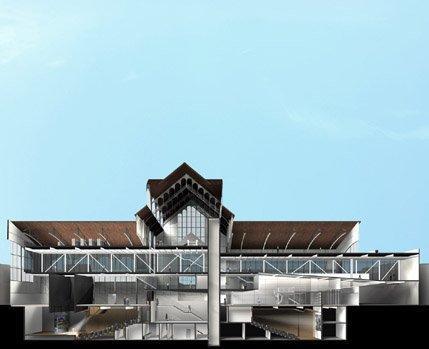 Университетский музей Чопо - реконструкция. Проект