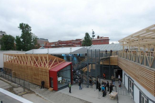 Институт медиа, архитектуры и дизайна «Стрелка». Фото Нины Фроловой