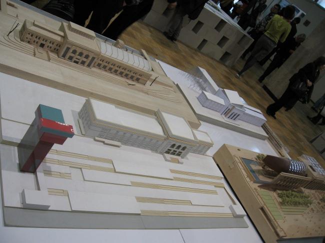 Реконструкция Речного вокзала в Перми. Проекты архитектурного бюро Sauerbruch Hutton и бюро Александра Бродского