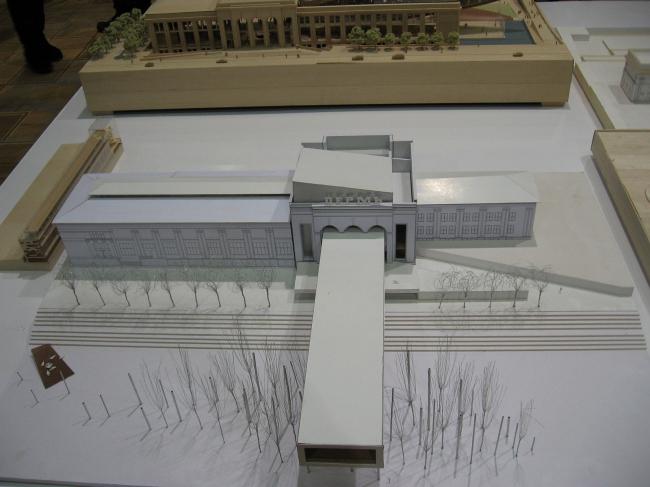 Реконструкция Речного вокзала в Перми. Проект архитектурного бюро CassonMann LTD