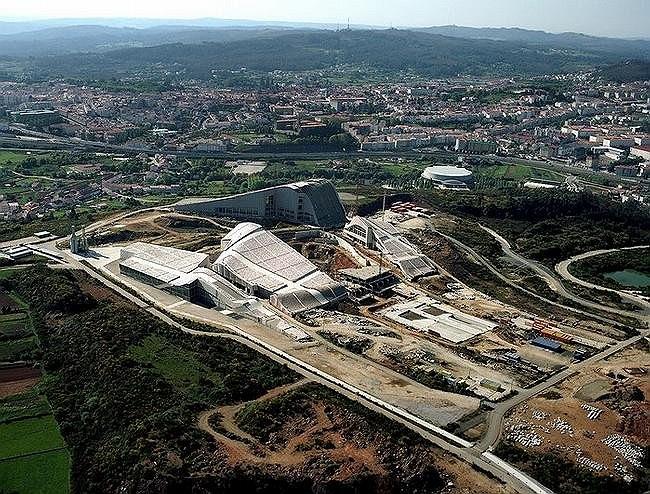 Город культуры Галисии. © Paisajes Espanoles. Courtesy Fundacion Cidade da Cultura de Galicia