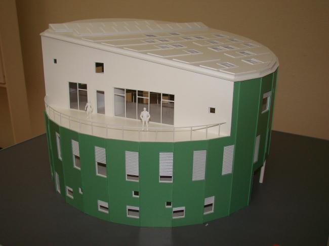 «Зеленый Маяк» (арх.: Christensen & Co Architects) – первое в Дании общественное здание с нейтральным уровнем выбросов углекислого газа.