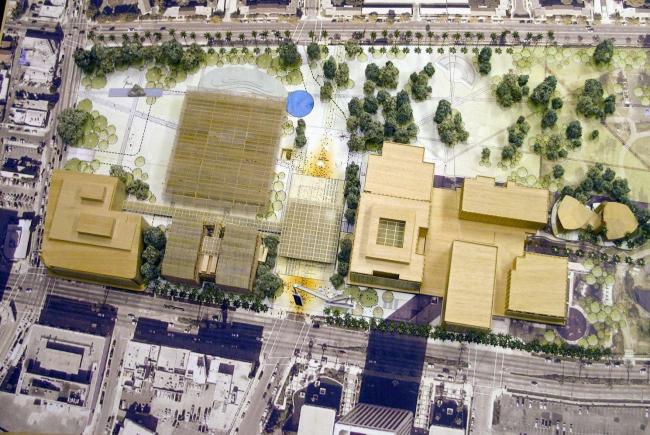Музей искусства округа Лос-Анджелес (LACMA) - реконструкция