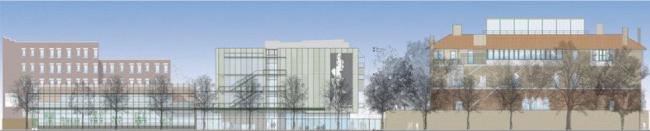 Музей Изабеллы Стюарт Гарднер – реконструкция © RPBW