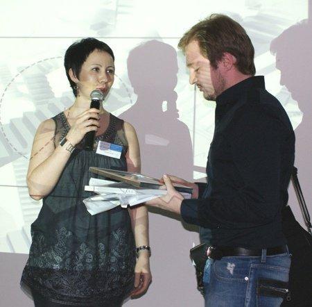 Ия Томашевская – редактор издательства «АРД-центр» и Эрик Валеев – архитектор, руководитель мастерской IQ Studio