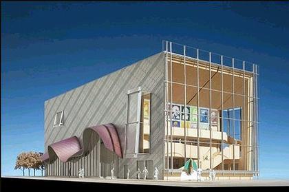 «Театр для новых зрителей». Проект с участием Фрэнка Гери