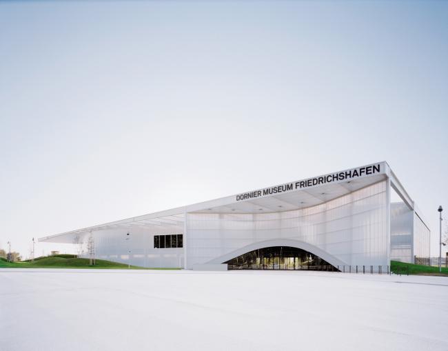 Музей Дорнье © Allmann Sattler Wappner Architekten