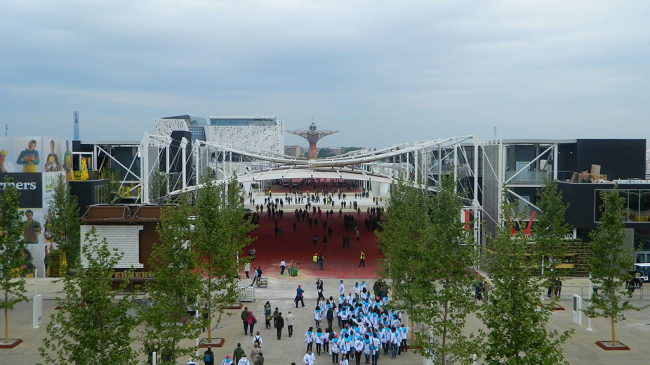 Новый Центр Миланской Ярмарки. Фото: Cesco 82 via Wikimedia Commons. Лицензия CC BY 2.0