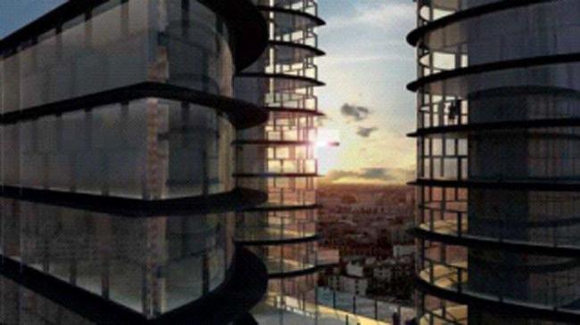Проект «Метро – Вертикальный ландшафт» бюро Иньяки Абалоса