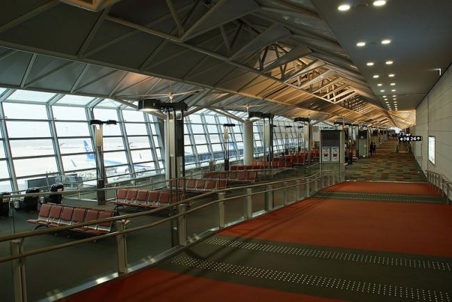 Центральный Международный аэропорт Японии. Фото: JKT-c via Wikimedia Commons. Лицензия GNU Free Documentation License, Version 1.2