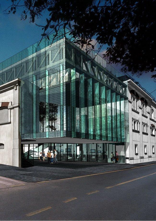 Музей современного искусства MACRO - новое крыло. Проект
