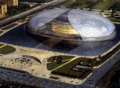 Большой народный театр Китая. Проект