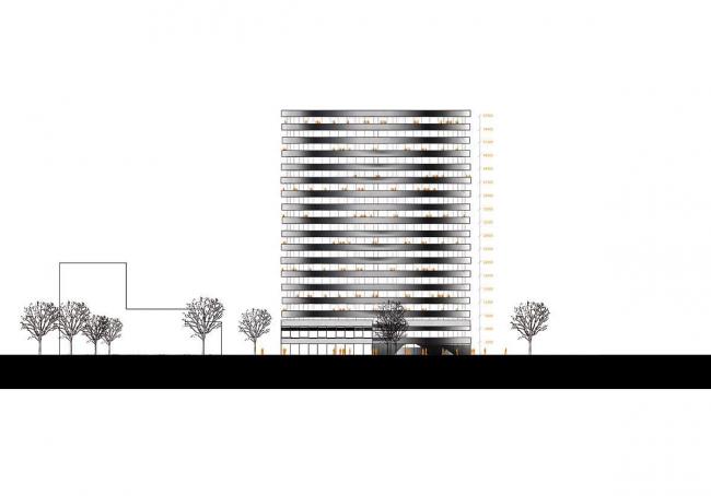 Многофункциональный комплекс в районе Валлингбю Паркстад