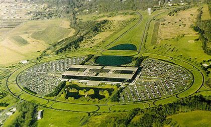 """Эро Сааринен. """"Bell Labs"""" в Холмделе. Аэрофотосъемка"""
