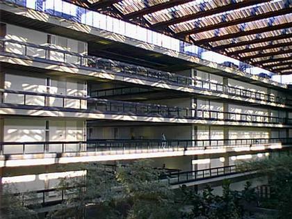 "Эро Сааринен. ""Bell Labs"" в Холмделе. Атриум"