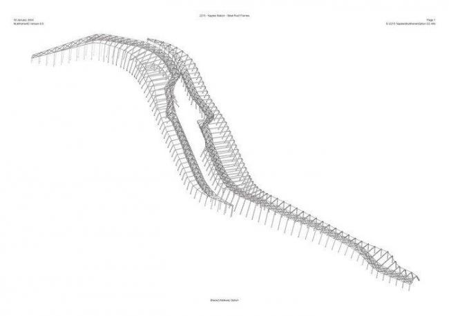 Вокзал скоростной железной дороги Неаполь - Афрагола