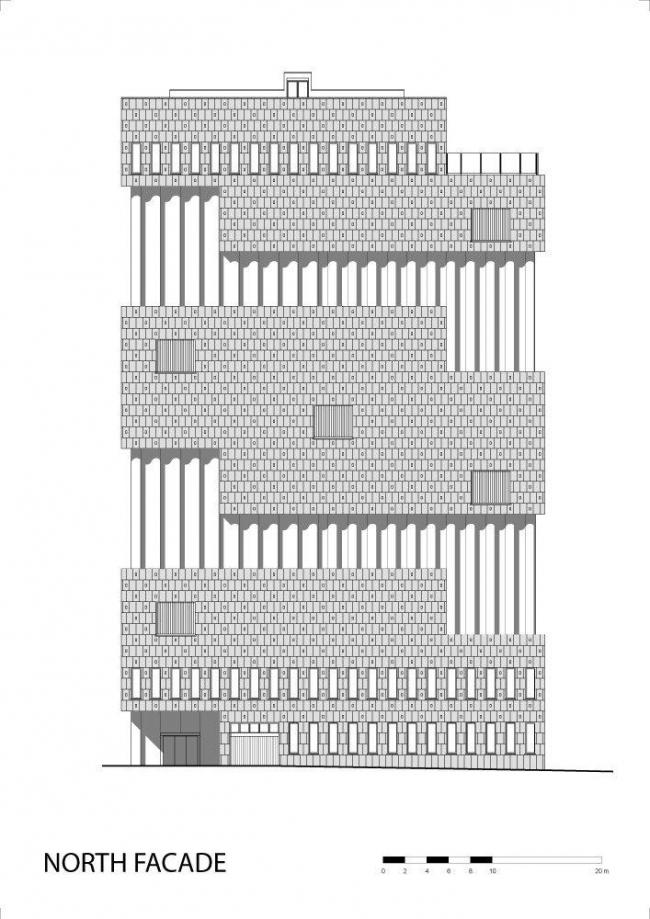 Музей «ан де Стром» © Neutelings Riedijk Architects