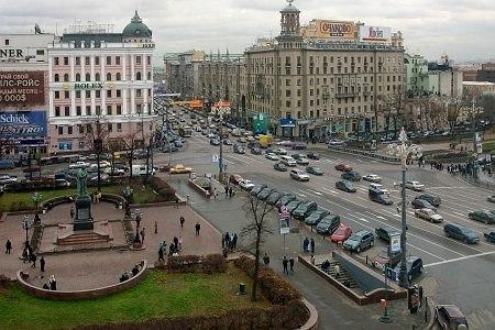 Пушкинская площадь. Фото: http://www.vashdosug.ru/
