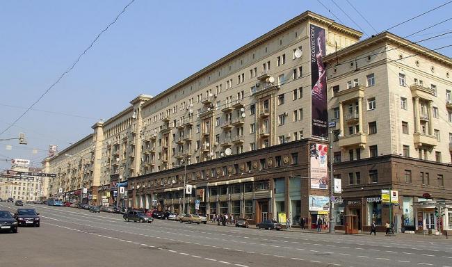 Тверская (бывшая улица Горького). Фото: http://dic.academic.ru/