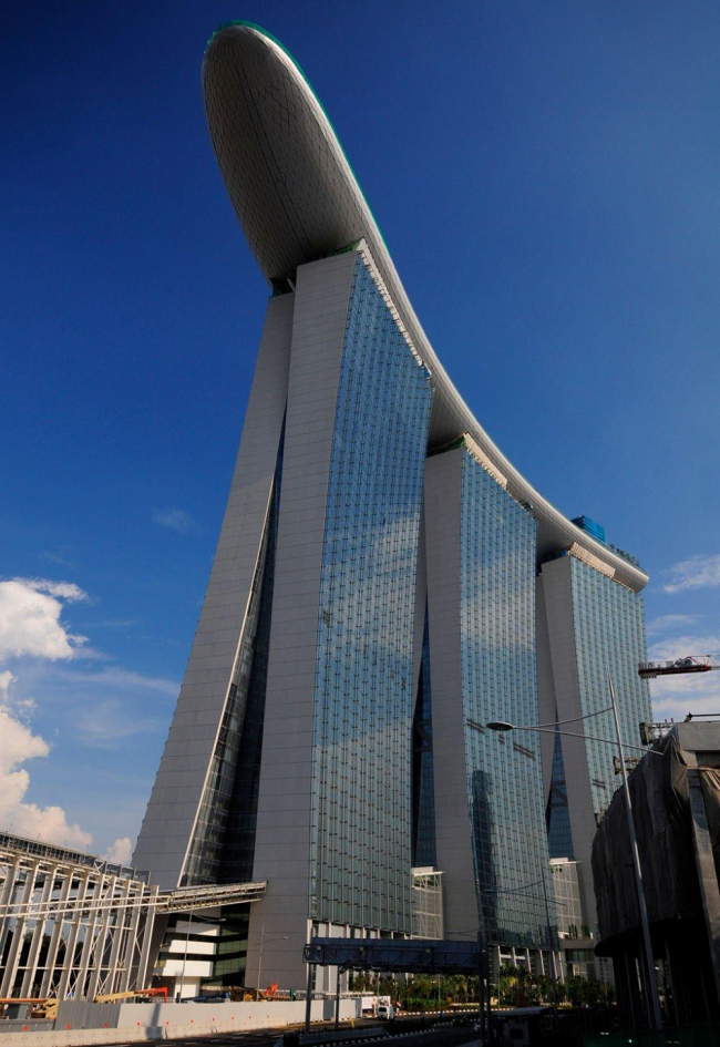 Отель Marina Bay Sands. Фото: William Cho via Wikimedia Commons. Лицензия CC-BY-SA-2.0