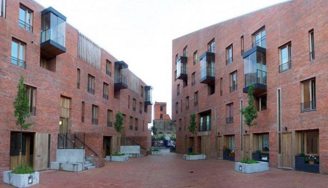 Комплекс социального жилья «Тимбер-ярд» в Дублине