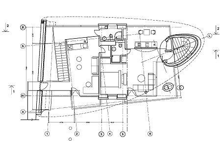 План 2 этажа. Усадьба в Подмосковье