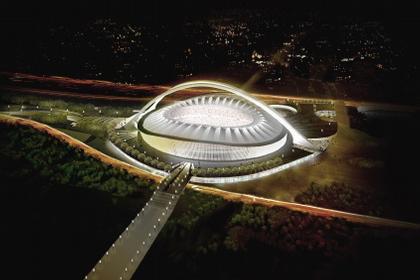 gmp. Проект футбольного стадиона в Дурбане