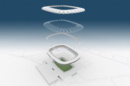 gmp. Проект футбольного стадиона в Порт-Элизабет